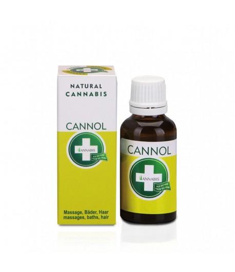 Olio per massaggi CANNOL con semi di canapa
