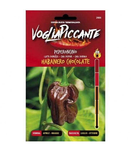 Habanero Chocolate - Semi di Peperoncino