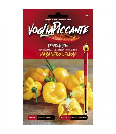 Habanero Lemon - Semi di Peperoncino
