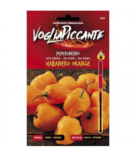Habanero Orange - Semi di Peperoncino