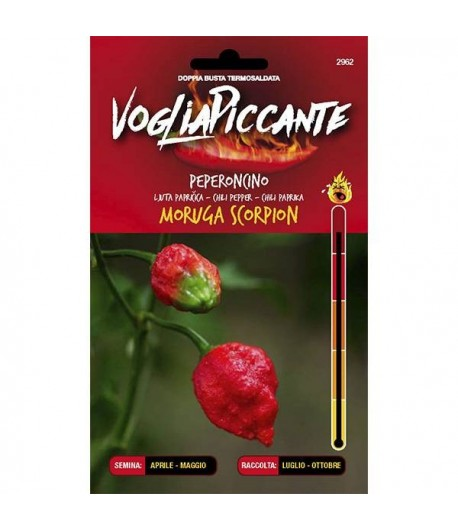Moruga Scoprion - Semi di Peperoncino