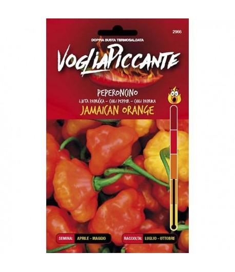 Jamaican Orange -Semi di Peperoncino