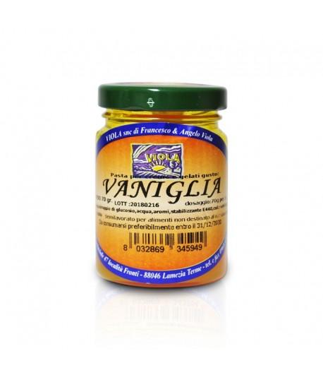 Vaniglia - Pasta per crema e gelati