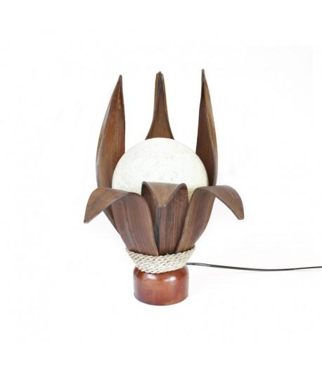 Lampada Occhio di Bali - 6 foglie cocco