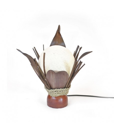 Lampada Occhio di Bali - 4 Foglie cocco
